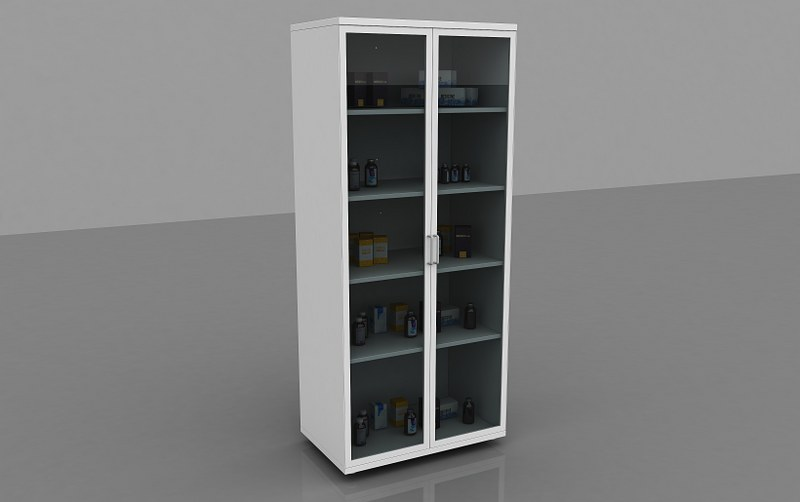 Chemical Material Cupboard_1